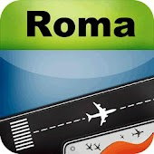 Rome Airport + flight tracker