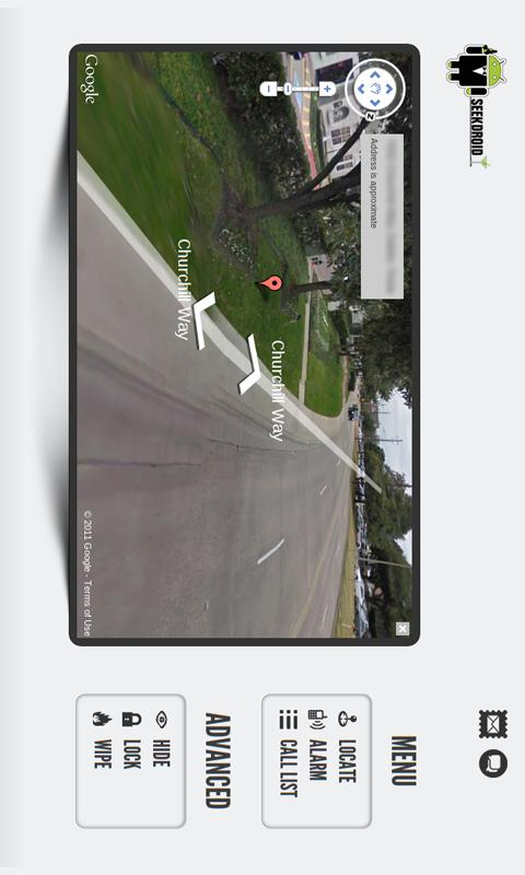 SeekDroid: Find My Phone - screenshot