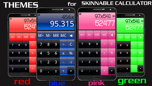 THEME FOR SCALC GLOSSY BLUE