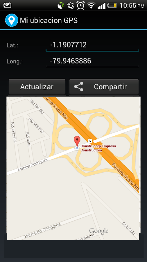 Mi Ubicacion Gps Android Apps On Google Play