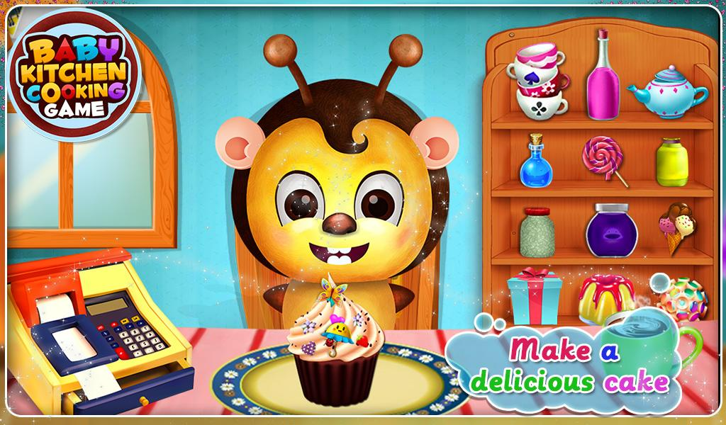 Baby Kitchen Cooking Android Apps On Google Play