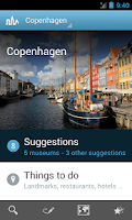 Screenshot of Copenhagen Travel Guide