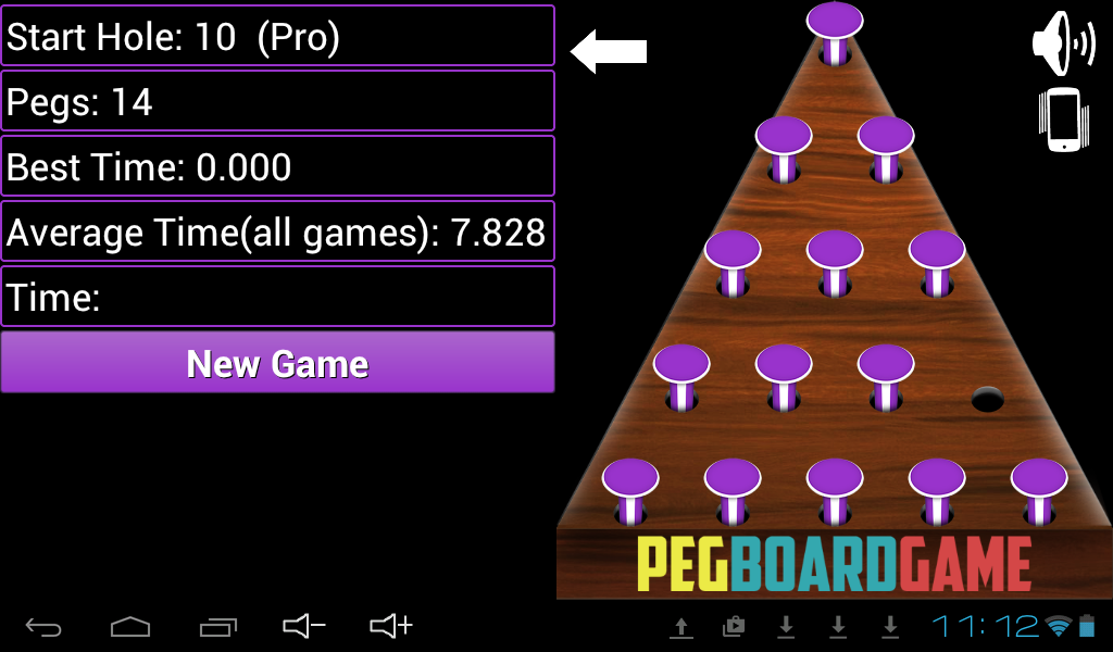 Peg Board Game Free- screenshot
