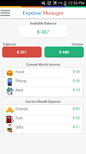 Expense Manager - My Budget - screenshot thumbnail