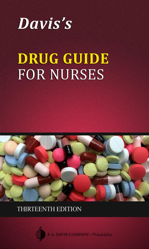 Davis's Drug Guide for Nurses Screenshot 0