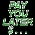 Pay You Later     (IOU) icon