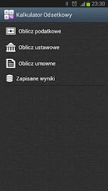 Kalkulator Odsetkowy Screenshot 1