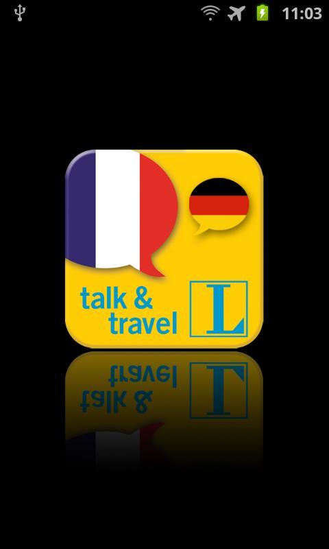 Französisch talk&travel - screenshot
