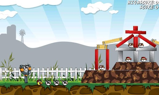 Angry Farm - Free Game - screenshot thumbnail