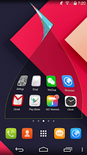 GO Launcher Prime (Trial)- screenshot thumbnail