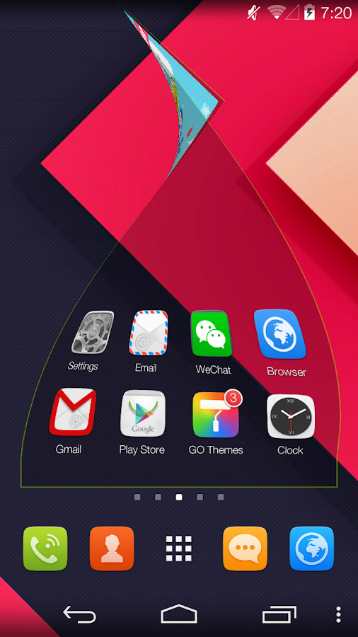 GO Launcher Prime (Trial)- screenshot