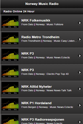 Norway Music Radio