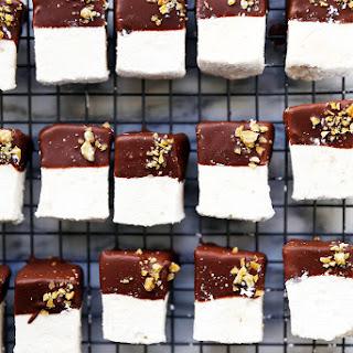 Homemade Chocolate Ginger Marshmallows