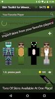 Screenshot of Skin Toolkit for Minecraft