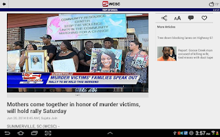 Screenshot of WCSC Live 5 News