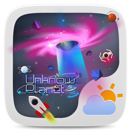 Unknown Planet Theme GOWeather 天氣 App LOGO-硬是要APP