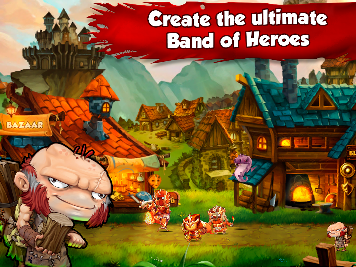 Band of Heroes- screenshot