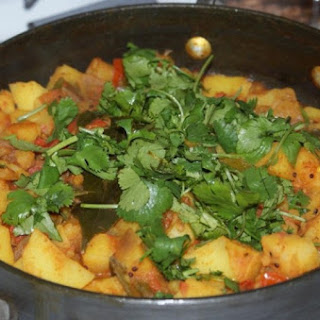 Potato Onion Tomato Curry