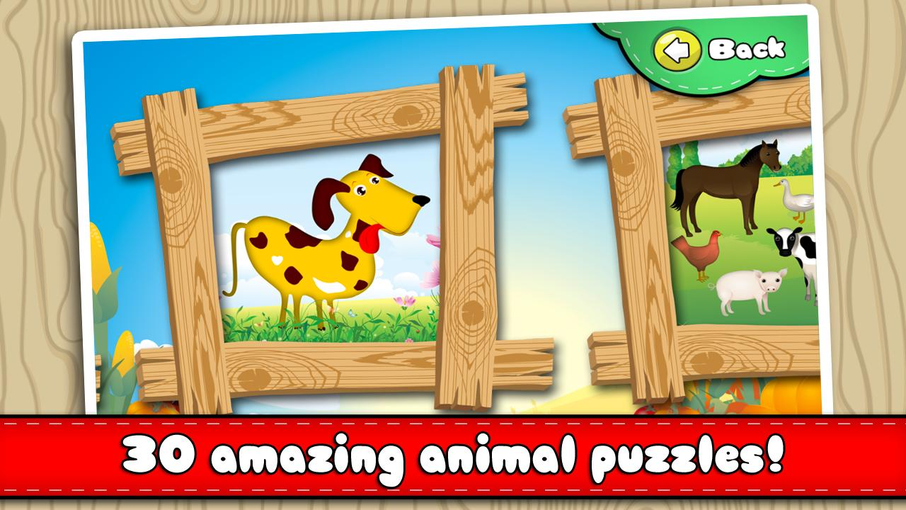 Animal Puzzle - Drag 'n' Drop- screenshot