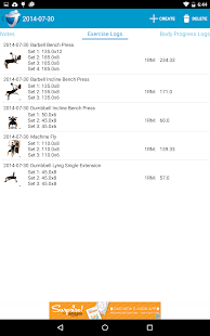 JEFIT Workout Tracker Gym Log - screenshot thumbnail