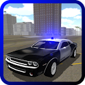 Muscle Police Car Driving icon