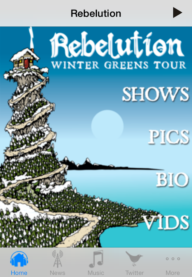 Rebelution - screenshot