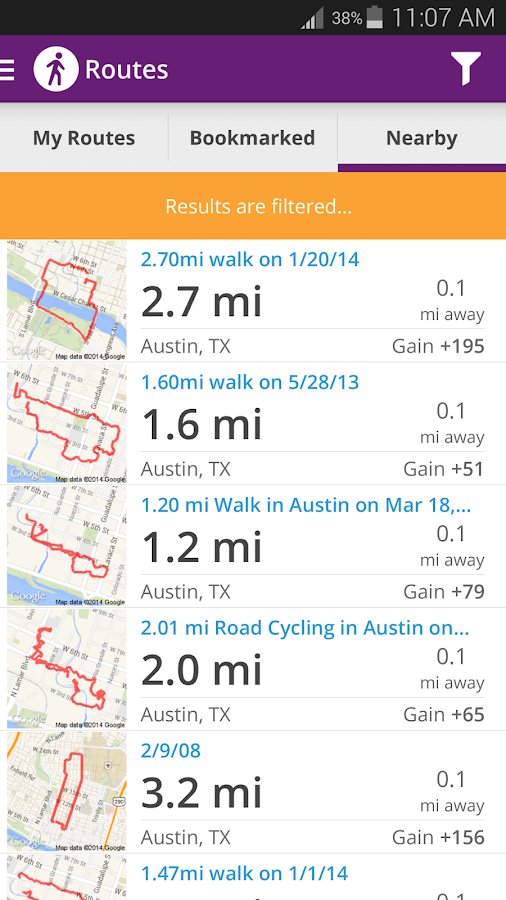 Walk with Map My Walk - screenshot