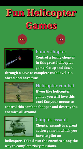 Fun Helicopter Games