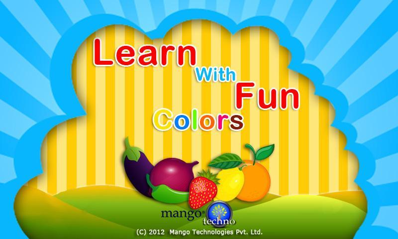 Learn With Fun - Colors- screenshot