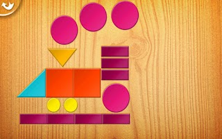 Screenshot of Kids Tangrams
