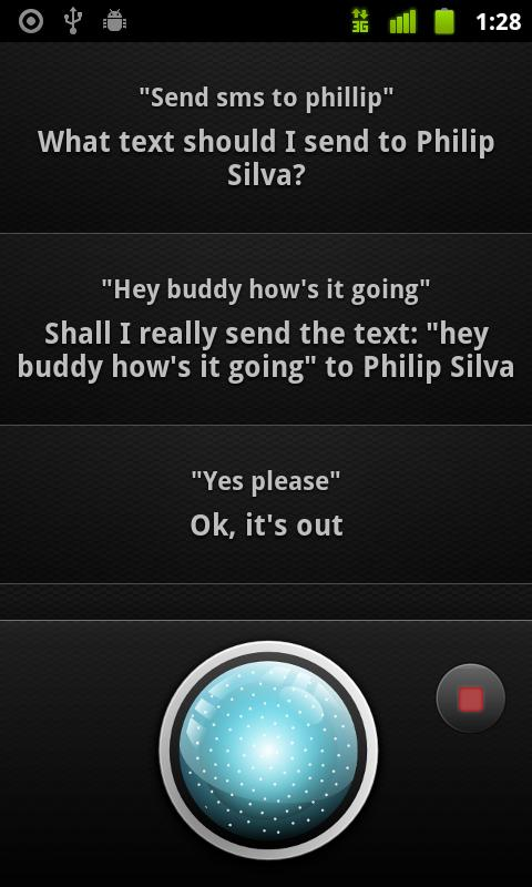 Omega - Virtual Assistant - screenshot