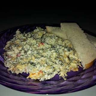 Sexy Spinach Dip.