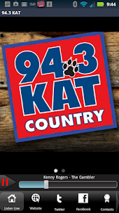94.3 KAT Country - screenshot thumbnail