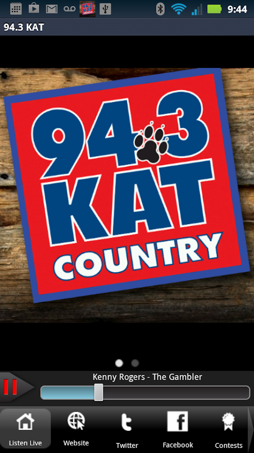 94.3 KAT Country - screenshot