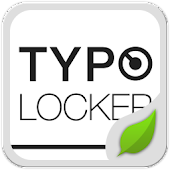 Typo White GO Locker Theme