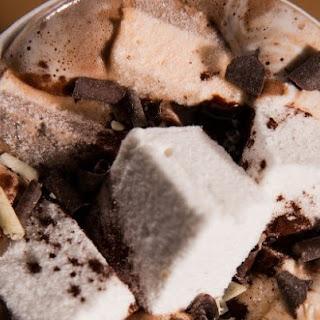 Pumpkin And Milk Chocolate Hot Chocolate.