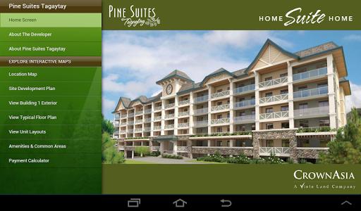 Pine Suites Interactive Maps