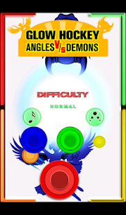 Glow Hockey- Angels vs. Demons - screenshot thumbnail