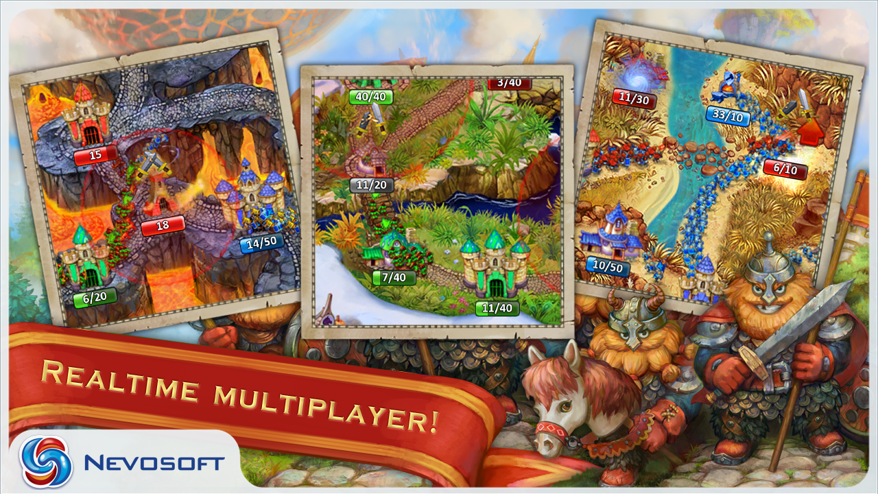 LandGrabbers: Strategy Game - screenshot