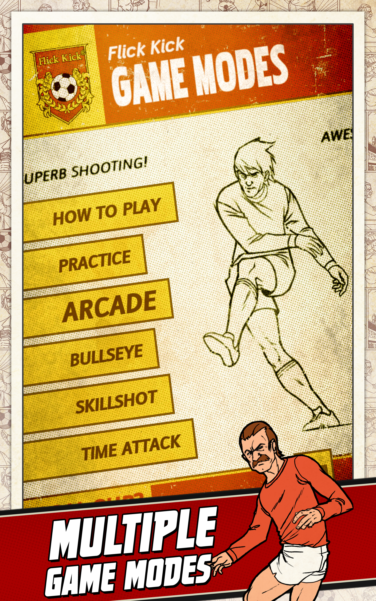 Flick Kick Football screenshot #8