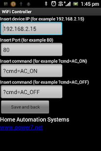 WiFi Remote Control - screenshot thumbnail