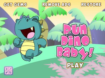 Run Dino Baby - Free Edition