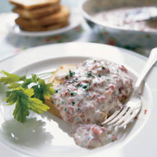 Creamed Chipped Beef on Toast
