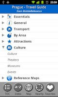 Screenshot of Prague - FREE Travel Guide