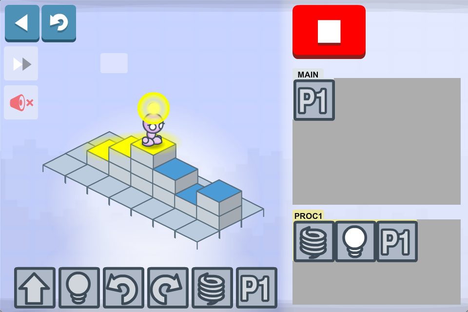 Lightbot Jr : Coding Puzzles- screenshot
