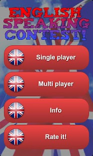 English speaking contest! - screenshot thumbnail