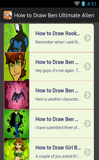 How to Draw Ben Ultimate Alien