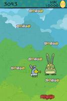 Screenshot of Doodle Jump Easter Special