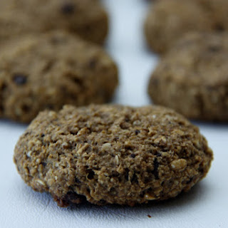 Almond Butter Espresso Breakfast Cookies.