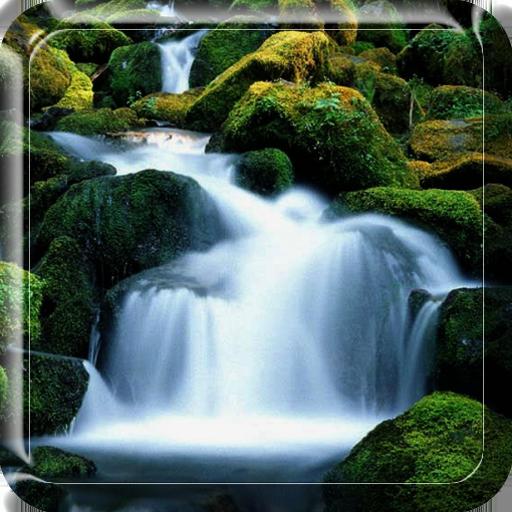 瀑布 動態桌布 個人化 App LOGO-APP試玩